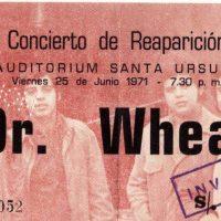 La Historia de DR. WHEAT en el Kuntur Rock