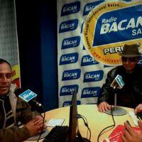 Coco García (Fundador y baterista de LOS SILVERTONS) en el Kuntur Rock