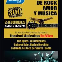 Kuntur Rock 300: Festival Acústico EN VIVO
